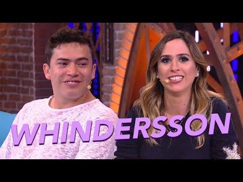 Whindersson e Tatá Werneck em um papo HILÁRIO 😂  ESQUENTA LADY NIGHT  Humor Multishow