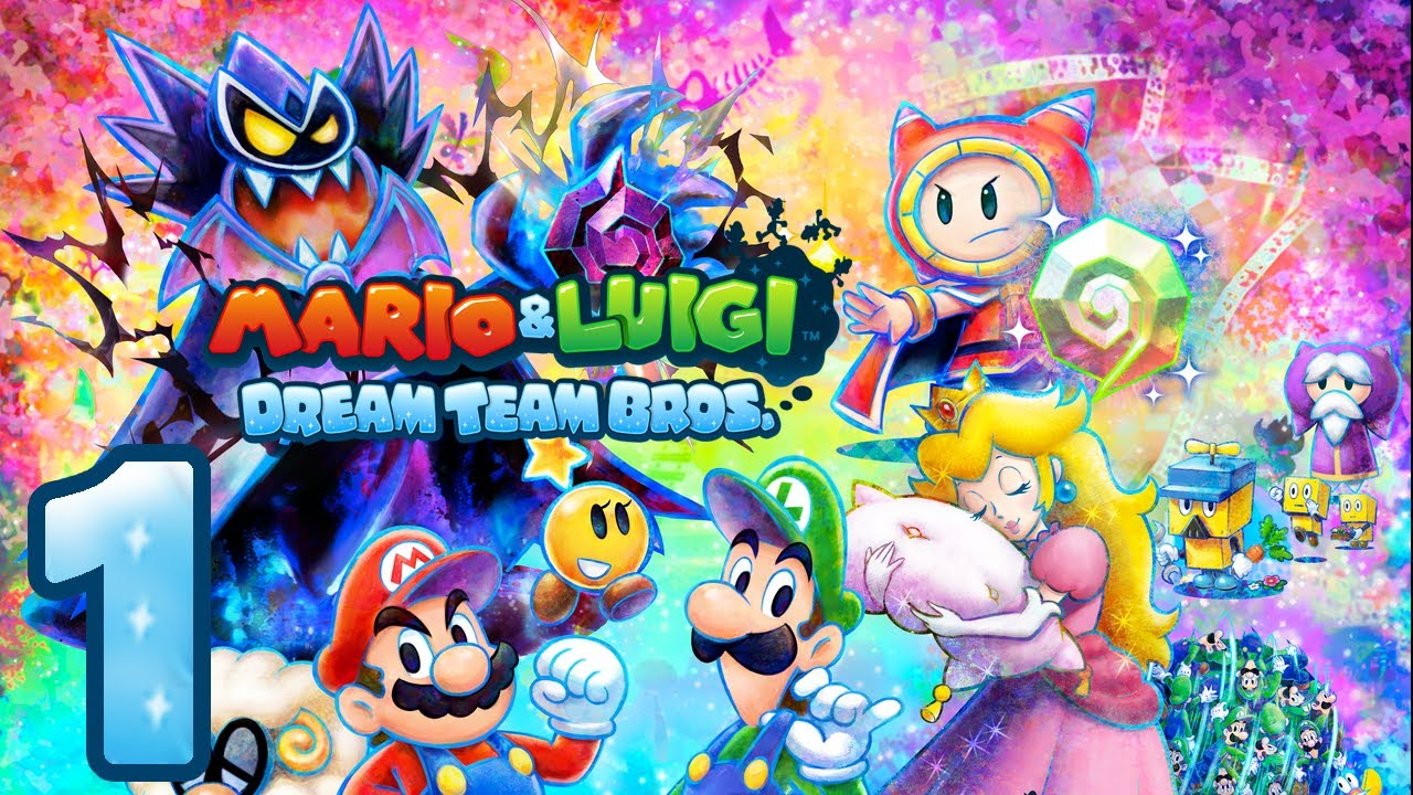 mario and luigi dream team 3ds review