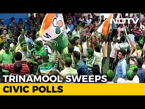 Mamata Banerjee's Party Ahead In Civic Polls, In Worry for BJP In Bengal