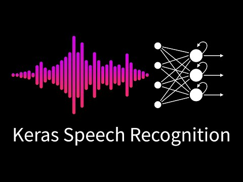 13. Speech Recognition with Convolutional Neural Networks in Keras/TensorFlow (2019)