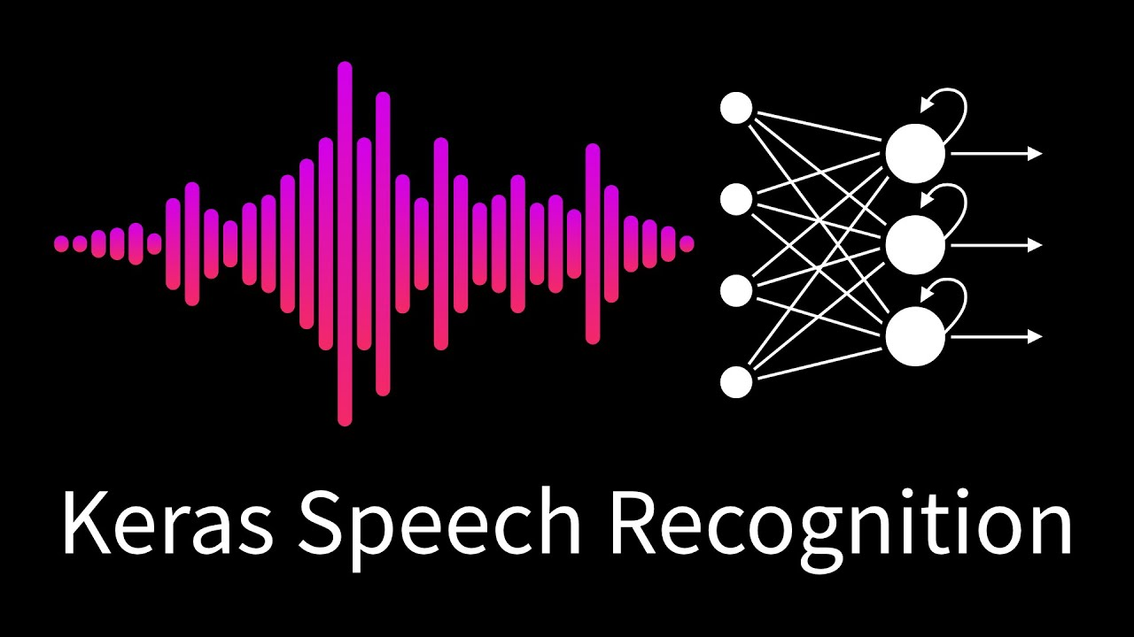 13  Speech Recognition with Convolutional Neural Networks in  Keras/TensorFlow (2019)