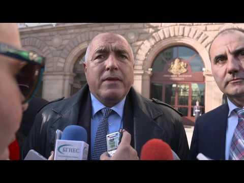 Бойко Борисов: Ние поехме ангажимент и считам, че в политиката трябва да има и морал, и достойнство. Трябва да се управлява тогава, когато си спечелил изборите – имаш и самочувствието, че това, което правиш е най-правилното . Демокрацията е най-ценното нещо и когато народът дава правото кой да управлява и народът го взима. Ако един ден пак прецени - сме готови, на нашите места сме си.