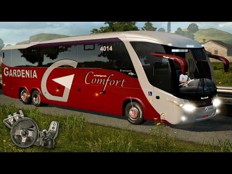 Euro Truck Simulator 2 - Gardênia Confort - São José dos Pinhais até Itajaí - Com Logitech G27