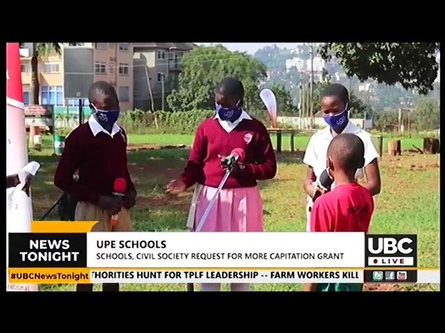 Increase capitation grant  Civil society