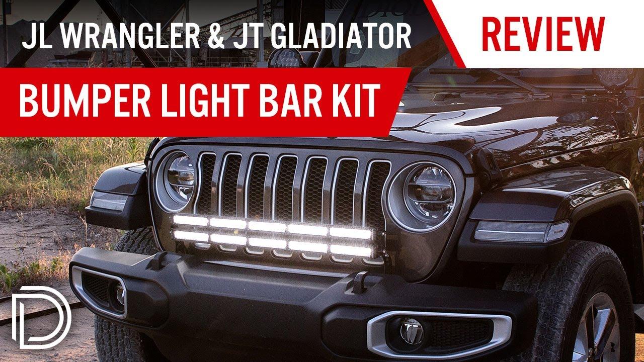 2018 Jeep Jl Wrangler Bumper Light Bar Kit Diode Dynamics