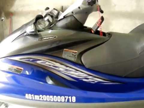 Jet ski yamaha fx cruiser ho 160 hp 2005 1100cc youtube for Yamaha fx jet ski