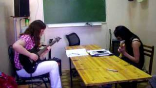 Stairway to heaven - studying guitar solo.AVI