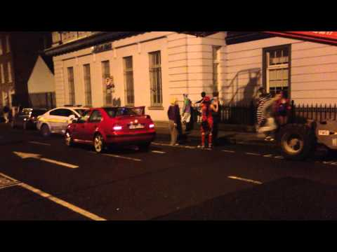 Halloween brawl in Limerick