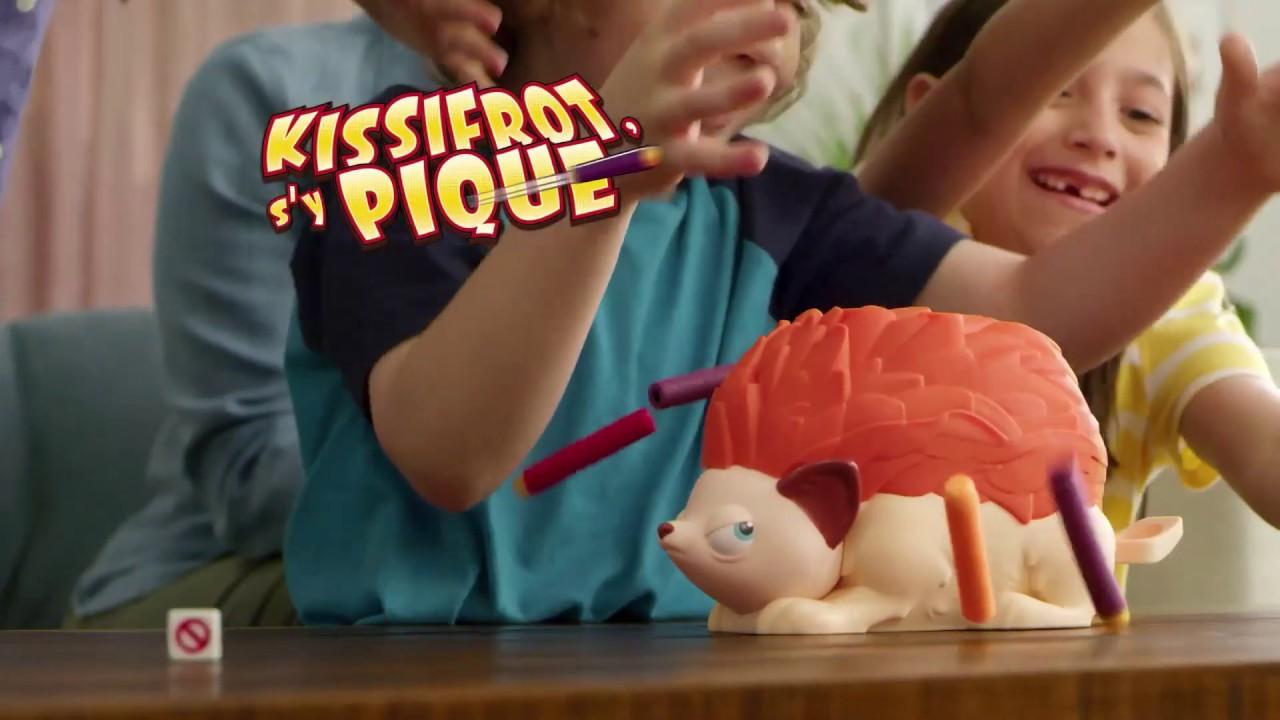 Sy Pique Jeu Daction Kissifrot Version Fran/çaise Jeu de Societe pour Enfants