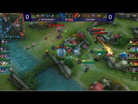 (SES VOC vs CHALLANGE) Indonesia Games Championships 2018 I Arena of Valor I Qualification