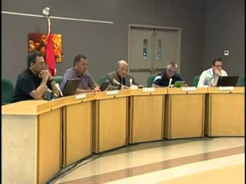 Réunions Publiques - Conseil municipal de L'Ange-Gardien - Août 2013