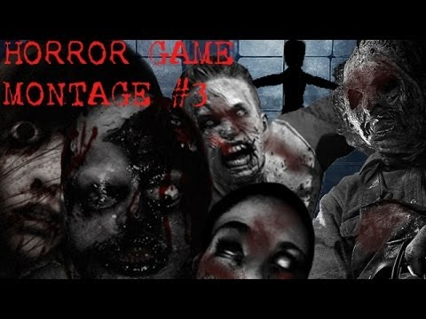 Scary Funny Horror Game Montage 3 The Best Jumpscares