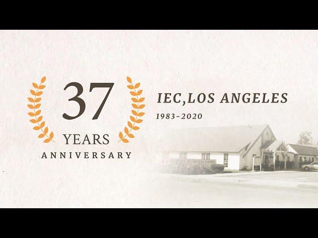 Join Us Live Sunday Combine Service 2020.09.13 10:30 AM | IEC Azusa Church Anniversary