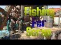 Fishing for Scrap - Fallout 4 Raider Settlement