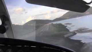Scary landing at Virgin Gorda, BVI! (Cessna 402 C)