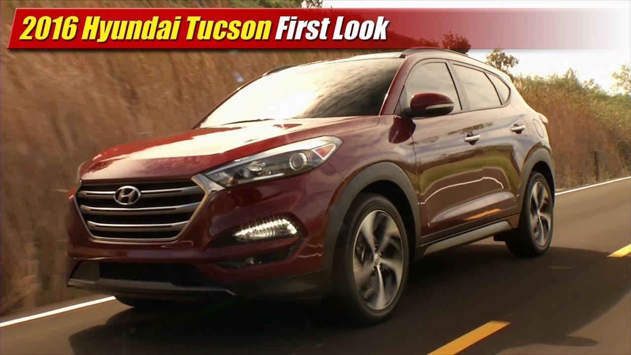 Beautiful 2016 Hyundai Tucson First Look  YouTube