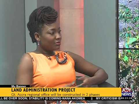 Land Acquisition - My Banner on Joy News (29-10-15)