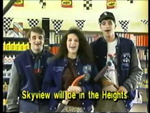 Skyview High School's Grad Day commercial from 1992