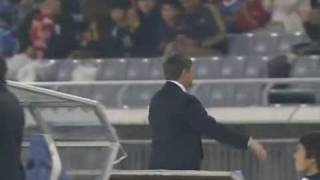 横浜F・マリノスvs名古屋グランパス・ストイコビッチ監督ボレーシュート