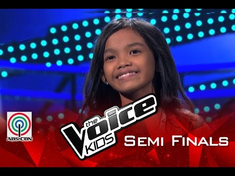 "The Voice Kids Philippines 2015 Semi Finals Performance: ""Flashlight"" by Zephanie"