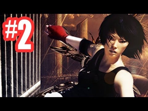 Mirror 39 s edge gameplay walkthrough chapter 1 flight for Mirror gameplay walkthrough