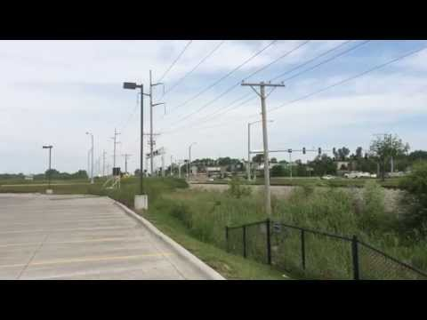 Iowa Interstate Railroad thru Coralville, Iowa