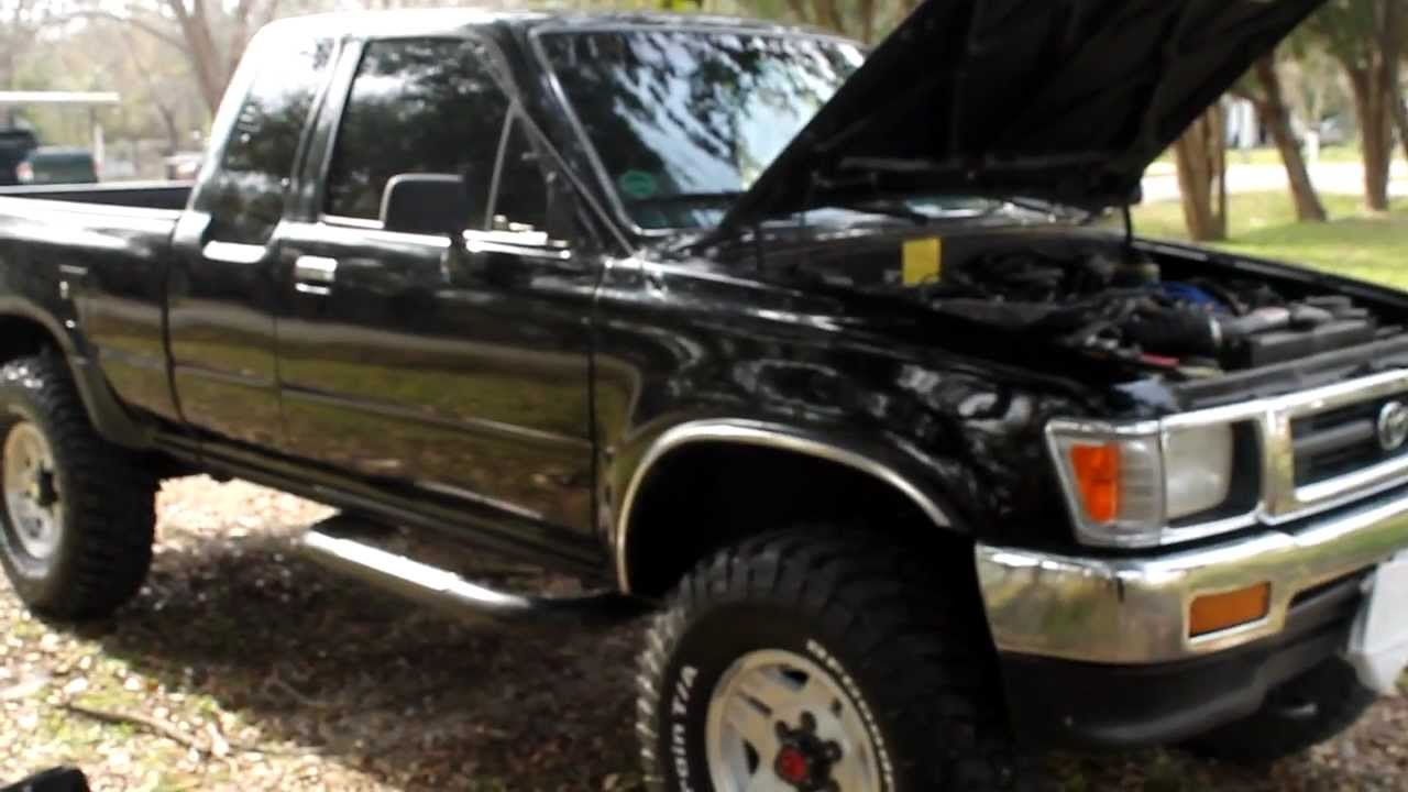 1992 Toyota Pickup 22R-E - YouTube
