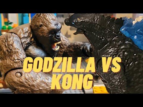 Godzilla Vs Kong: Ending Leaked. 2021 Spoiler Ending. #shorts #lego #stopmotion #kingkong #godzilla