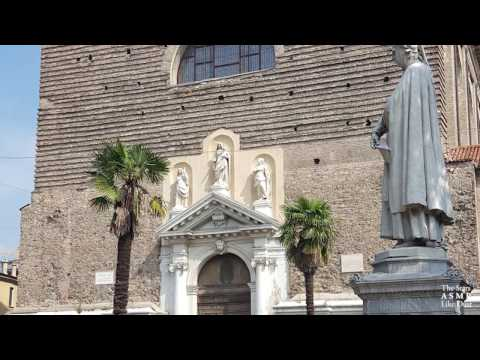 [ASMR ITA+ENG] A Church in Italy / Una chiesa in Italia | Whispering - Version #2