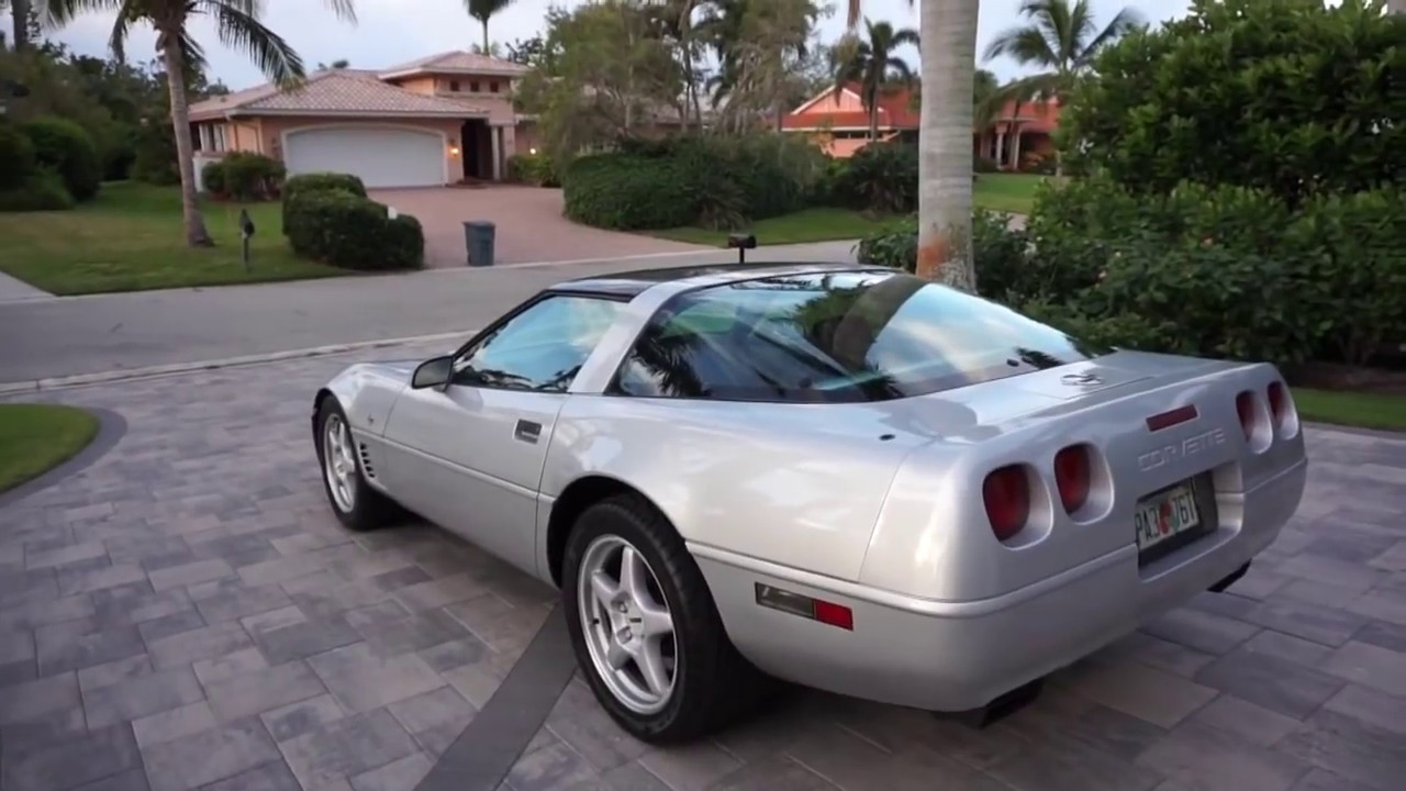 1996 chevrolet corvette collector u0026 39 s edition coupe review