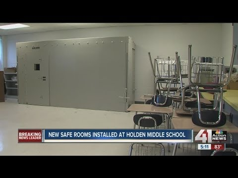 Holden Middle School invests in large shelters
