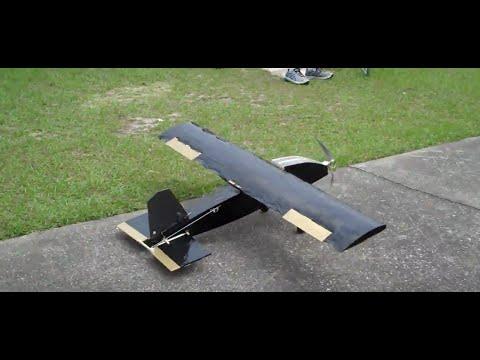 AIAA UCF Aviation Design 14-15 Black/Gold rough landing...