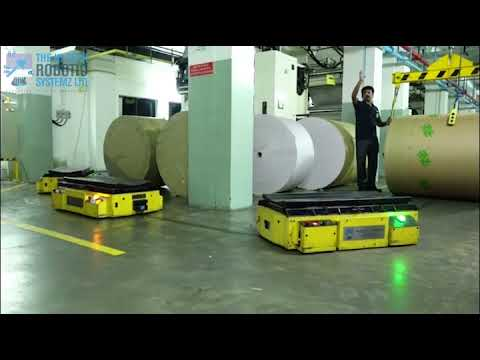 Paper Roll Handling AGVs