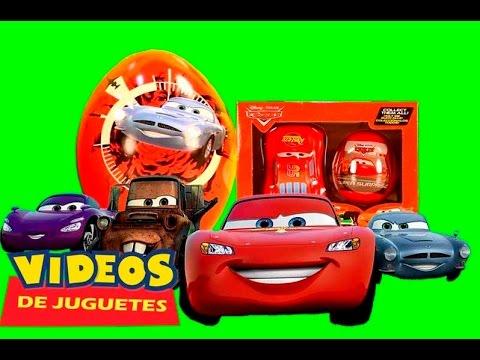Juguetes y huevo sorpresa de la pel cula pixar cars - Cars en juguetes ...