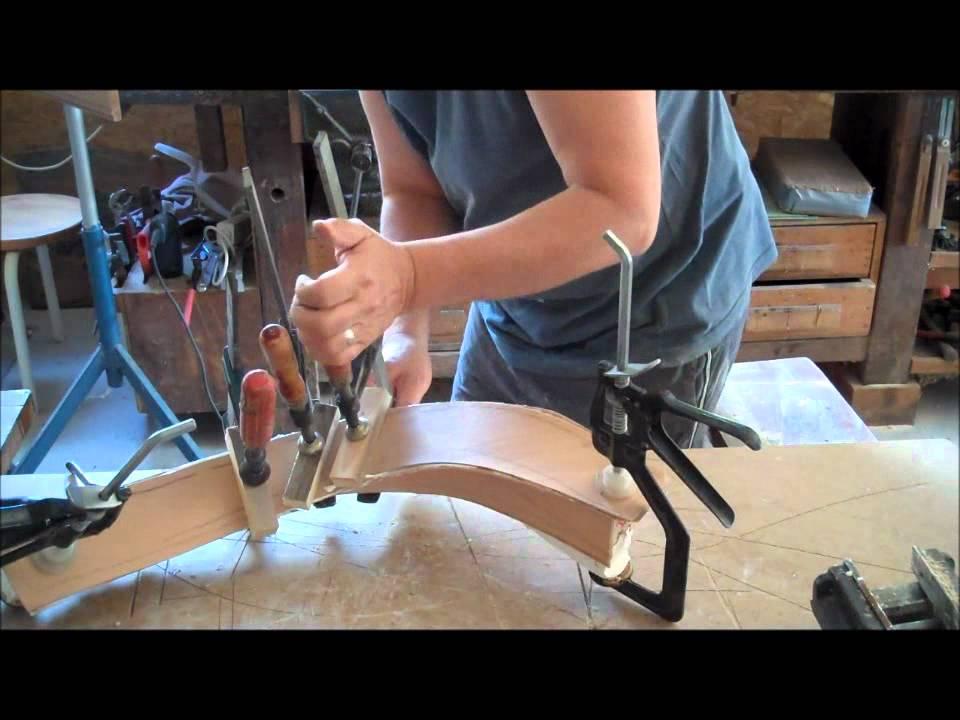 wooden hand rail on metal rail part 1 wood designer ltd youtube. Black Bedroom Furniture Sets. Home Design Ideas