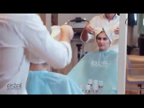 Экранирование волос видео уроки