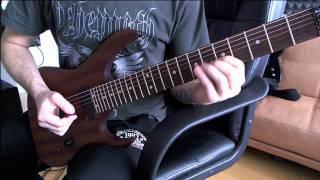 Acacia Strain - The Behemoth (cover in G#)