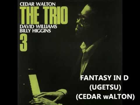 Cedar Walton Trio with Billy Higgins & David Williams