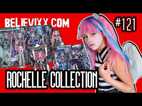 видео: моя коллекция кукол Монстер Хай Рошель Гойл новые куклы Монстер Хай Школа Монстров monster high