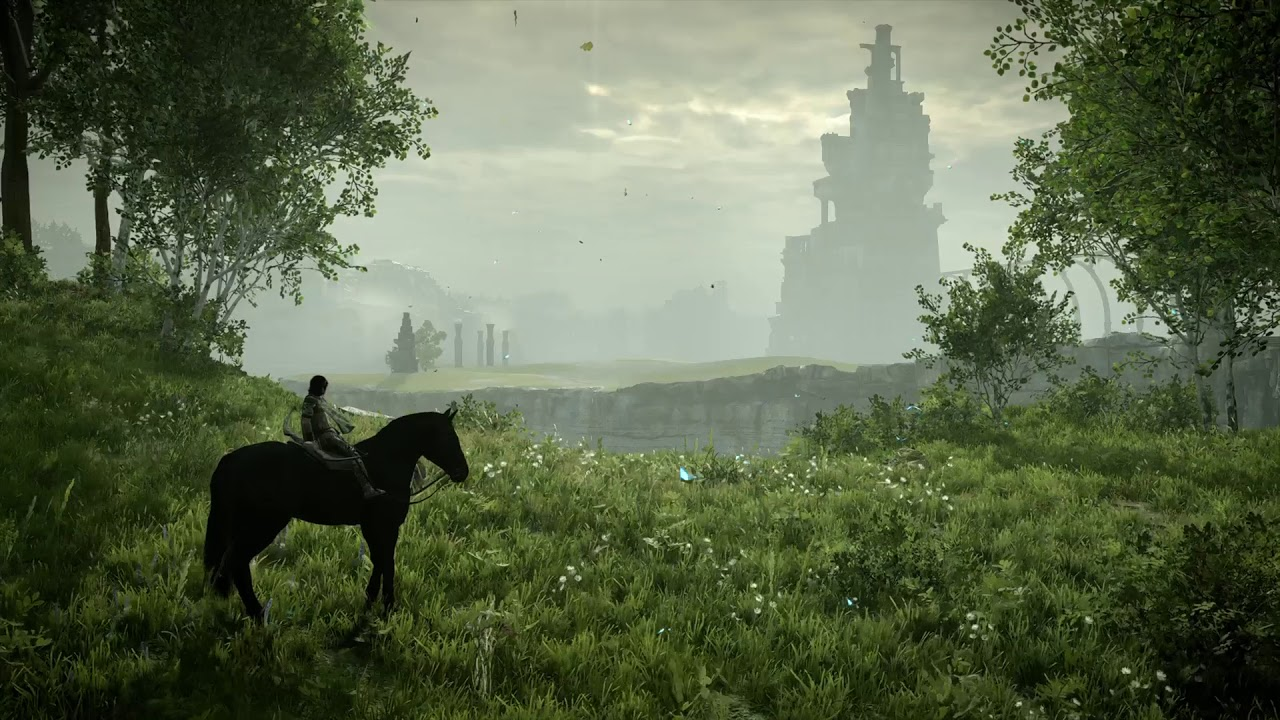 Shadow Of The Colossus Wallpaper Engine Youtube