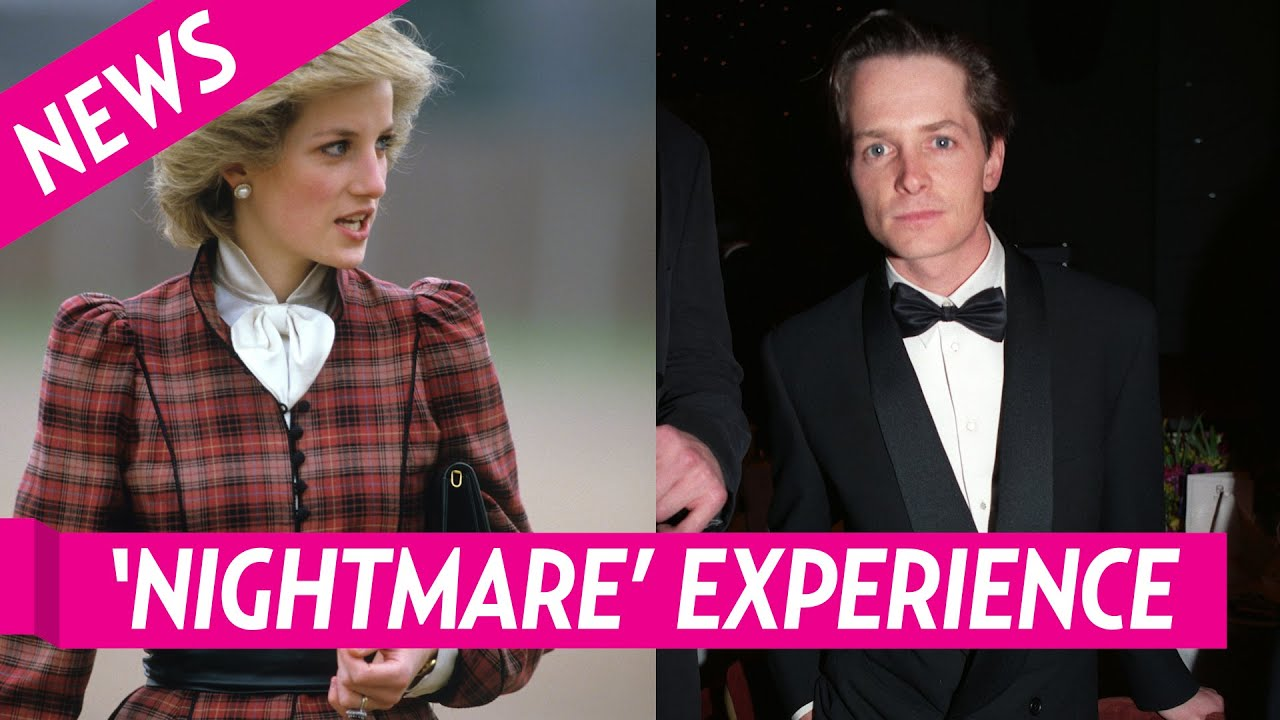 Michael J  Fox Recalls 'Nightmare' Experience Sitting by Princess Diana at Premiere