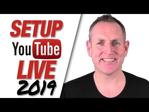 How To Set Up And Schedule YouTube Lives 2019