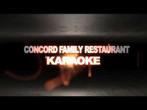 Karaoke Concord Family Restaurant Lets Sing