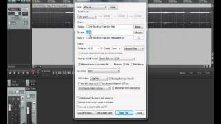 Reaper Drag, Drop, Slow Down Song & Export as mp3
