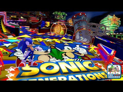 Sonic Generations - Casino Night DLC: Sonic Speed Pinball Action (Xbox 360/One Gameplay)