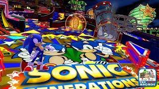Sonic Generations - Casino Night DLC: Sonic Speed Pinball Action (Xbox 360/One Gameplay)