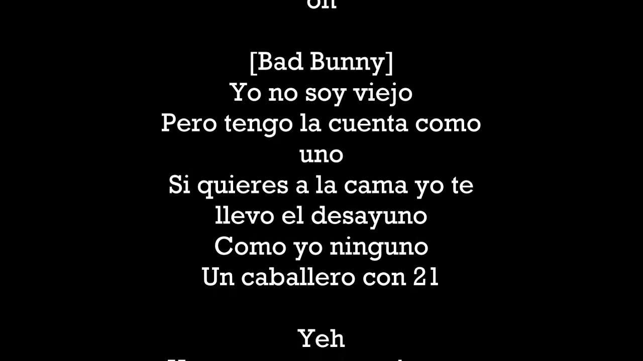 Mayores Becky G And Bad Bunny Letra Youtube
