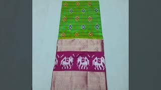 Latest Pure Kanchipuram Silk Saree Designs | Pure Kanchipuram Silk Saree Designs