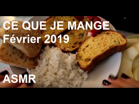 asmr-français---ce-que-je-mange,-février-2019.