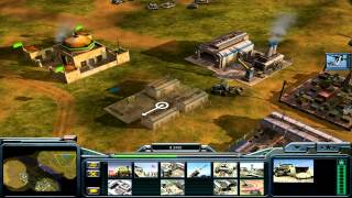 Command and Conquer: Generals USA Campaign Mission 5 - Operation Blue Eagle [HD]